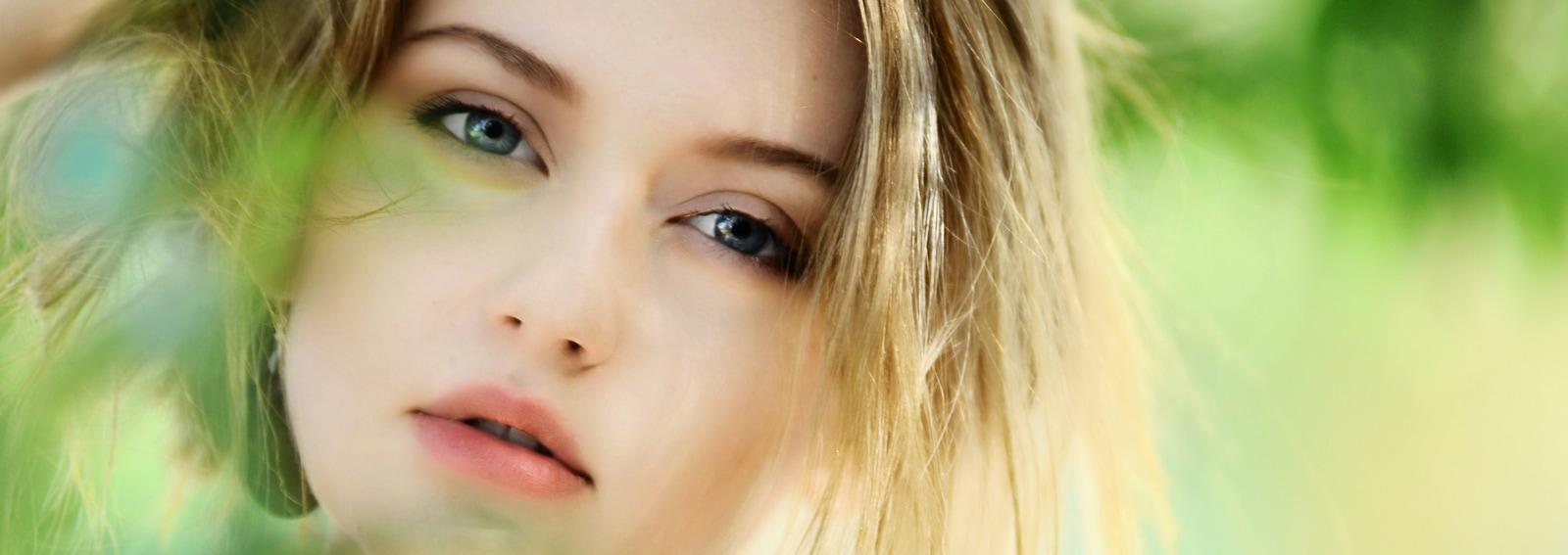 occhiaie viso ragazza 2