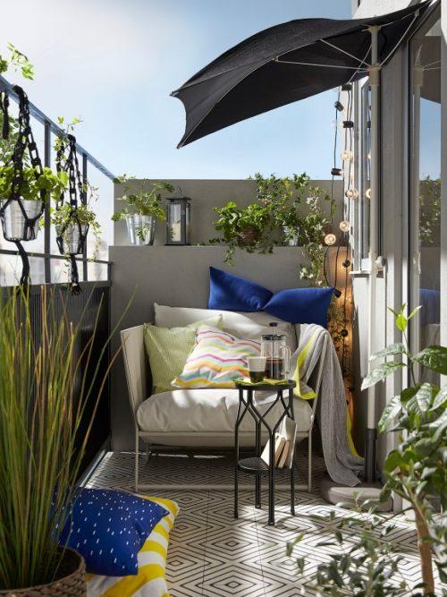 Arredo Giardino Terrazzo Ikea.Come Arredare Il Balcone Con Ikea 10 Idee Da Copiare