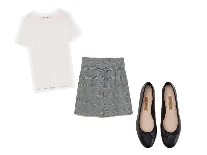 tshirt-shorts-ballerine-zara