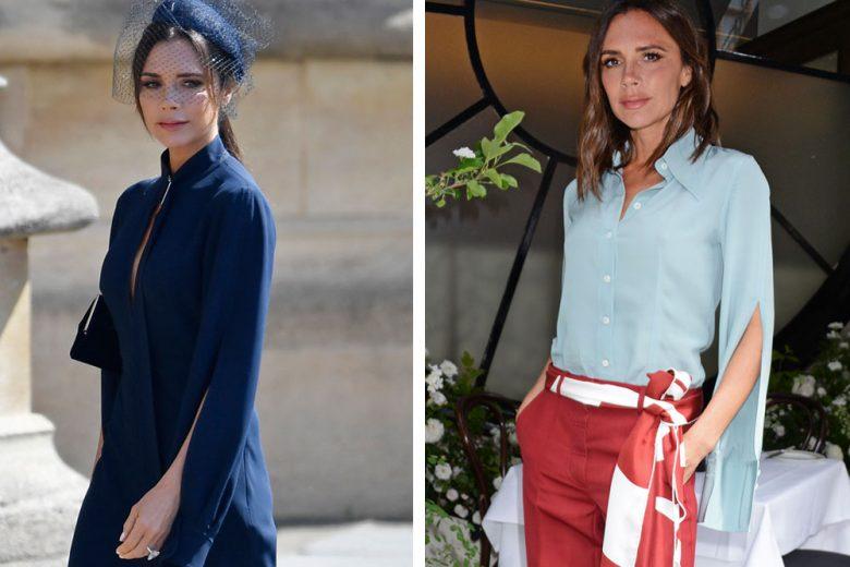 Victoria Beckham e il mistero delle maniche al Royal Wedding