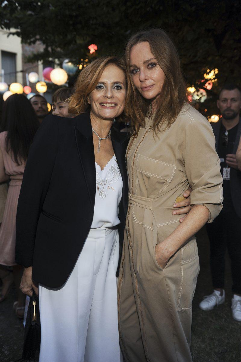 Isabella Ferrari e Stella McCartney