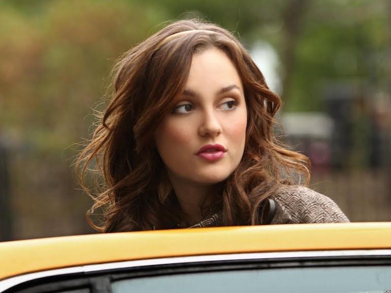 Blair Waldorf taxi