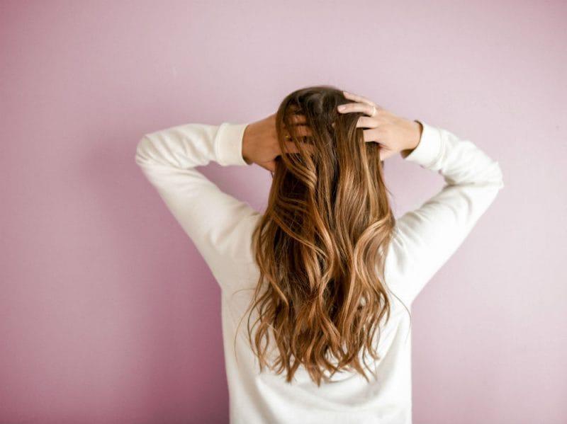 Donna capelli