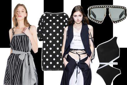 Bianco e nero: il giusto binomio per essere chic!