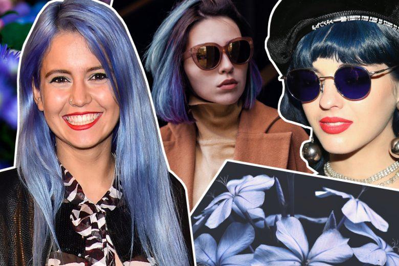 Capelli indaco pastello: la sfumatura di capelli blu da provare