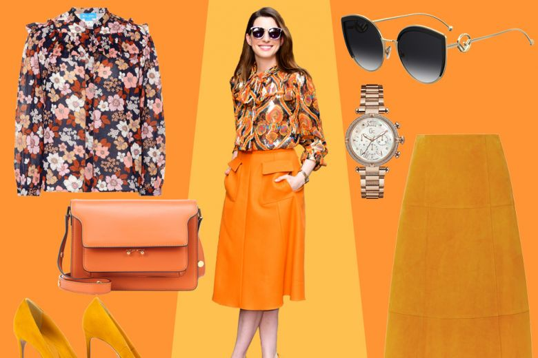 Orange is the new black (alias il look stiloso di Anne Hathaway)