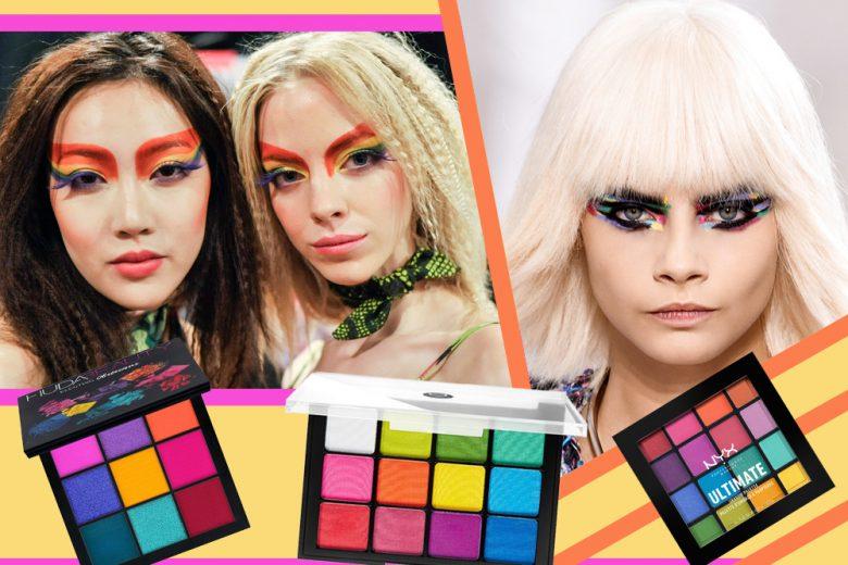 Trucco arcobaleno: come realizzare il make up occhi più colorato