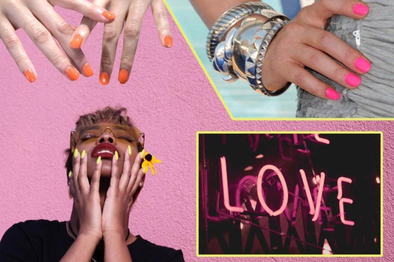 Unghie neon: la manicure fosforescente per accendere le vostre serate