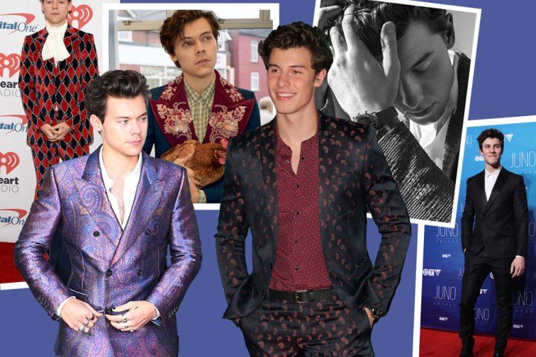 Harry Styles e Shawn Mendes: due popstar molto fashion a confronto