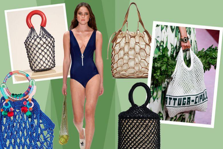 La borsa più cool dell'estate? È a rete!