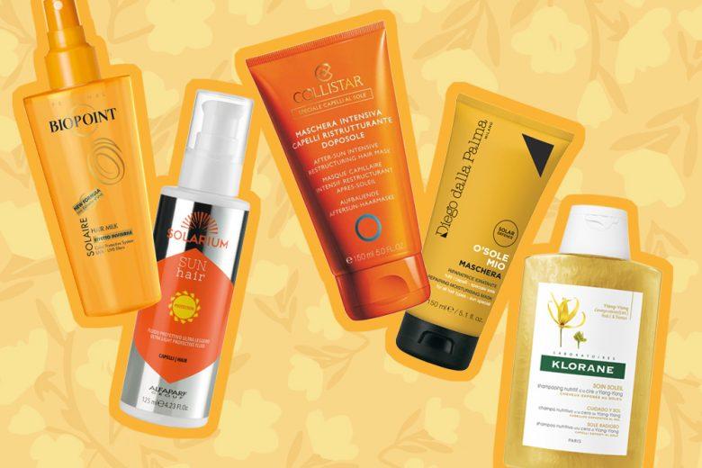 Capelli colorati al sole: tre step per proteggerli al meglio