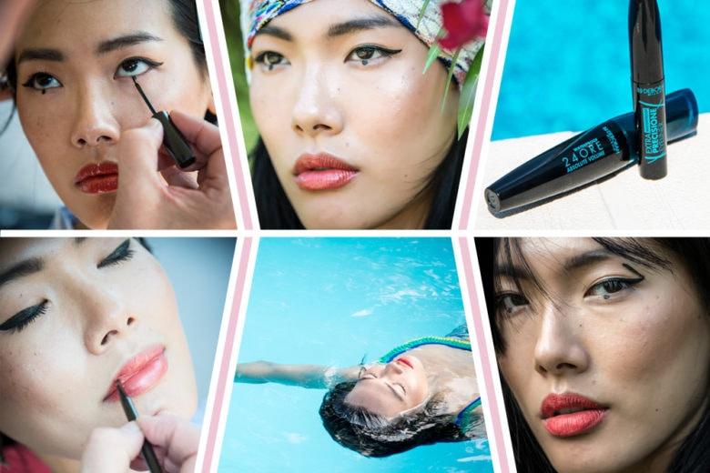 Il Graphic Eyeliner è il trucco occhi più cool del momento: il backstage beauty con Deborah Milano
