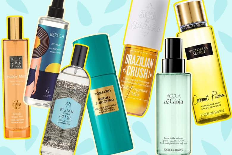 Body Mist: le profumazioni leggere dell'estate per viso e capelli