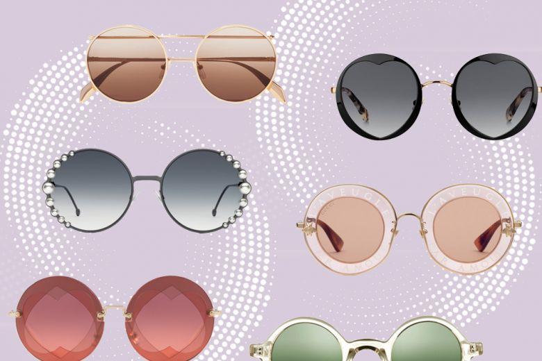 Occhiali da sole: le versioni tonde dal fascino rétro