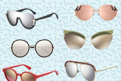 Occhiali da sole a specchio: le versioni più cool dell'estate