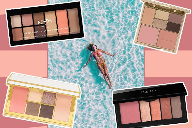 Le palette multiuso da portare in vacanza per make up estivi al top