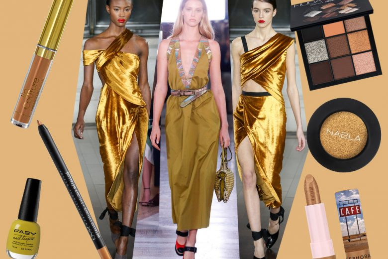 I prodotti di bellezza giallo ocra per un beauty look on trend