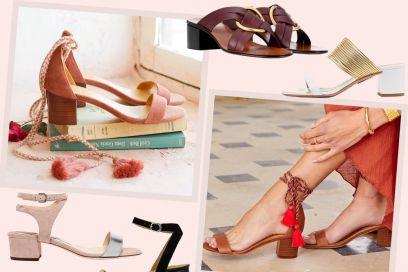 Sandali con tacco medio: le versioni cool (e super comode!) per l'estate