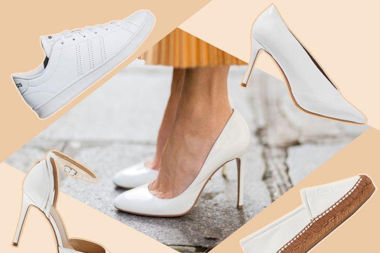 11 scarpe bianche che non vedrete l'ora di indossare
