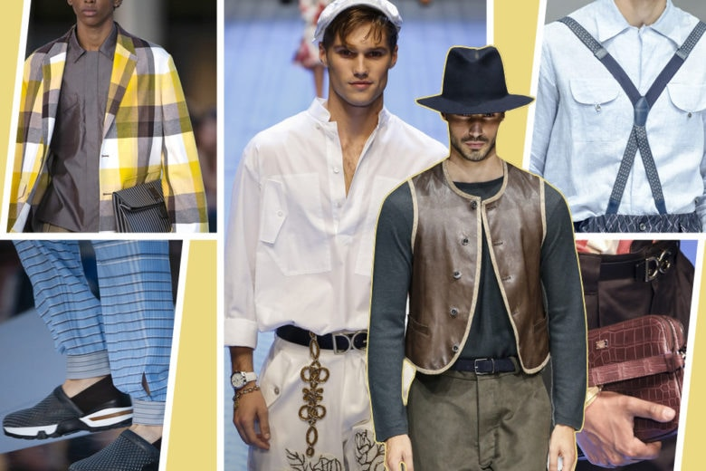 Tendenze moda uomo per la primavera-estate 2019: il recap dalle sfilate