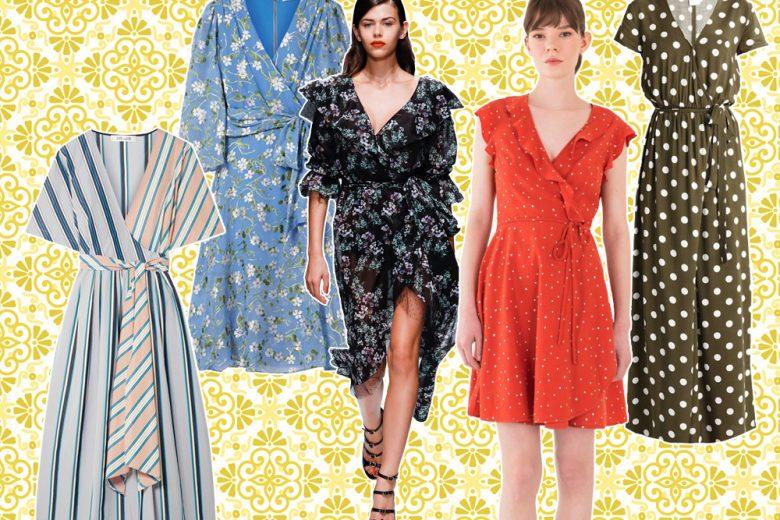 Wrap dress: i modelli più desiderati dell'estate