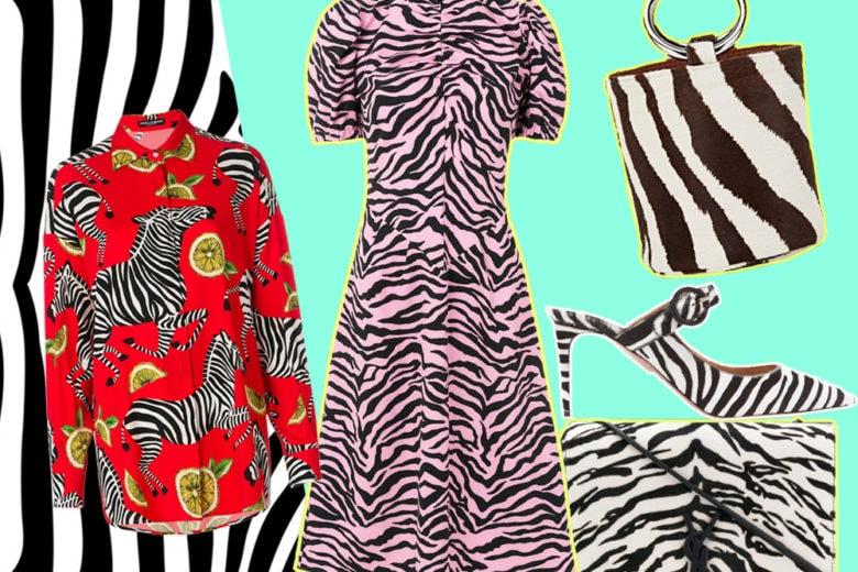 Trend animalier: è lo zebrato il pattern del momento