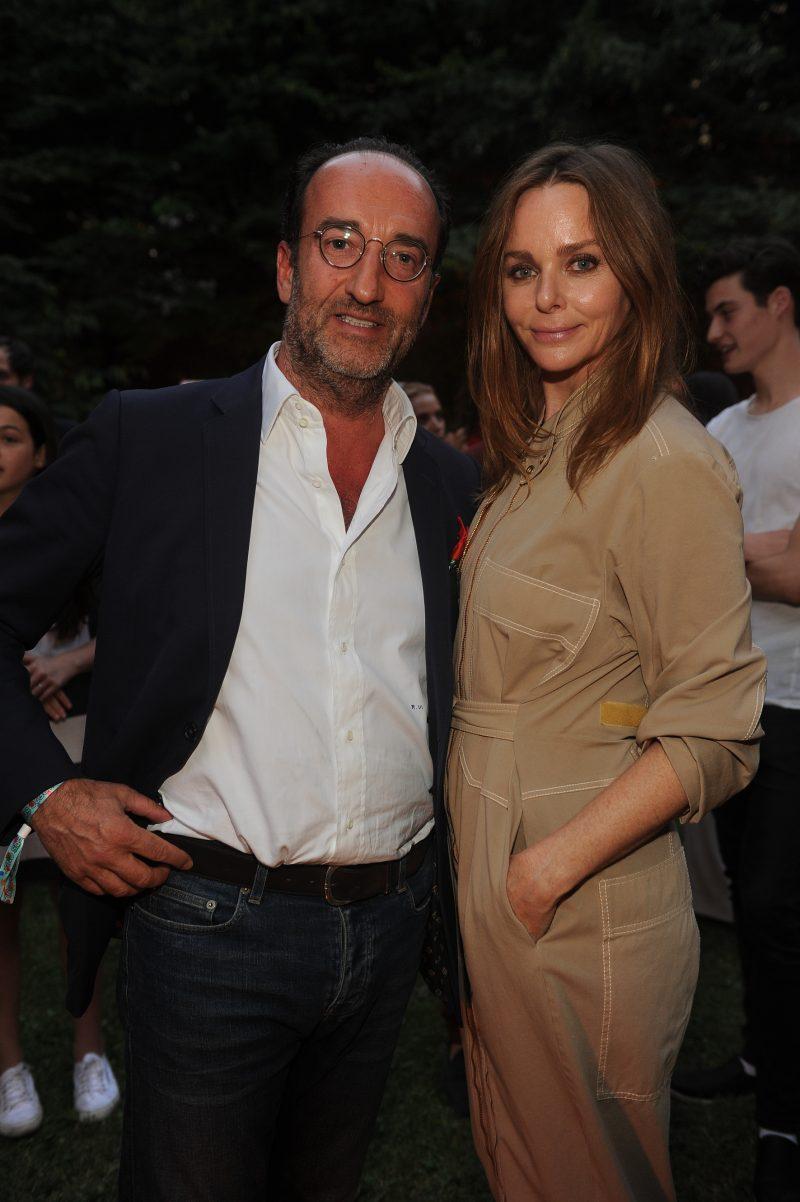 Roberto Vedovotto e Stella McCartney