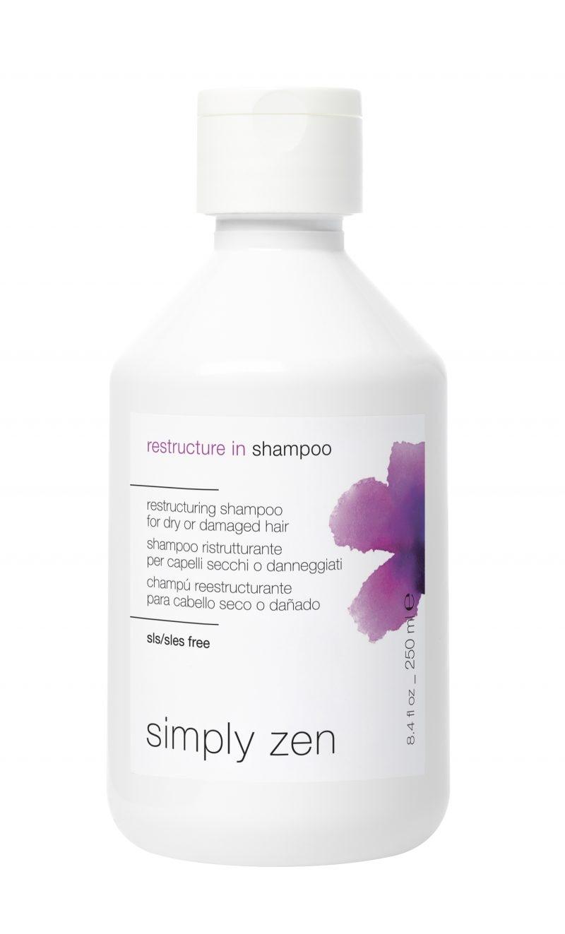 SZ restructure in shampoo 250ml