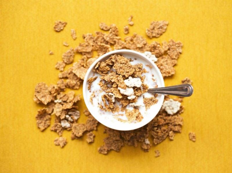 cereali ciotola colazione