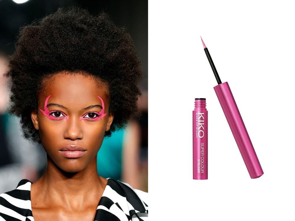 come porteremo eyeliner quest'estate fucsia