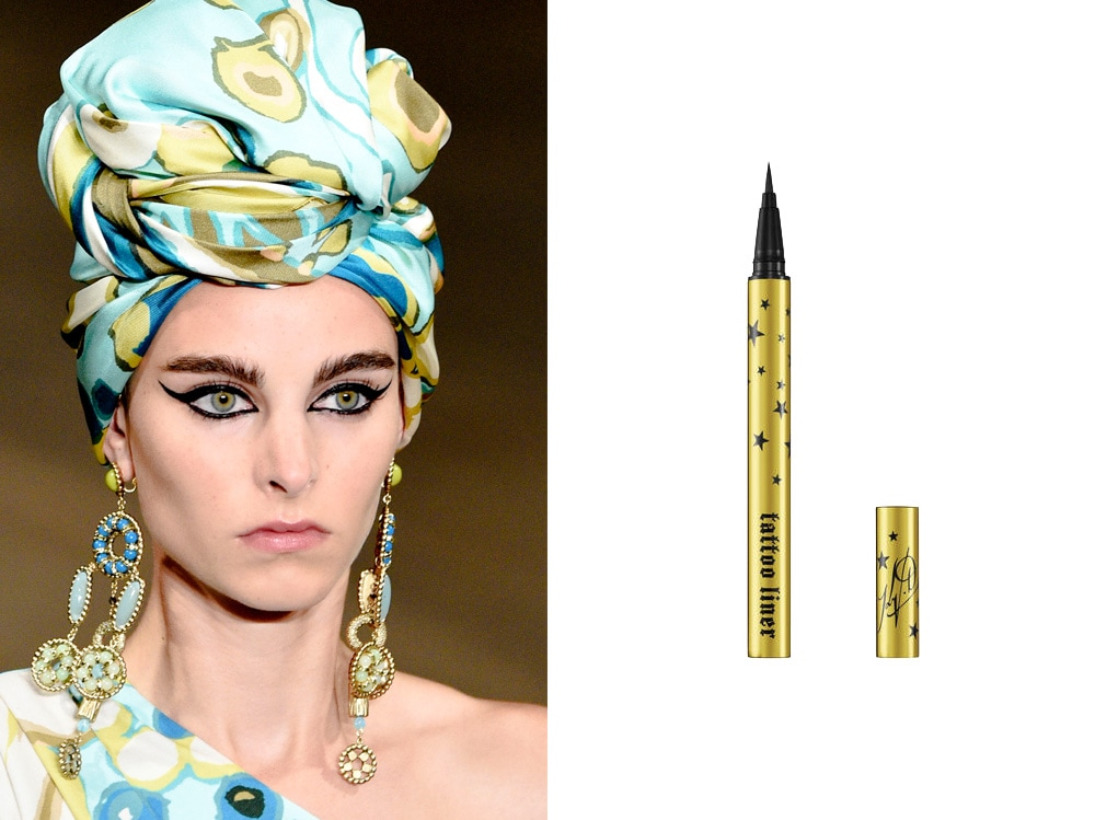 come porteremo eyeliner quest'estate nero