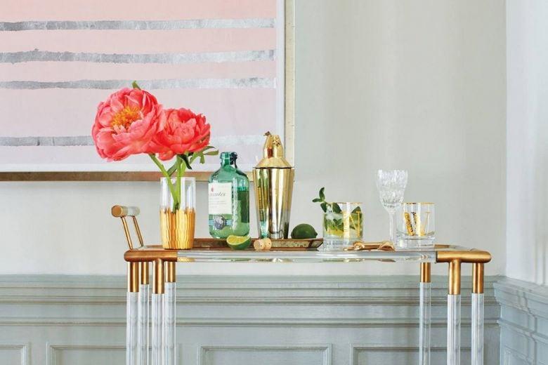 Come creare un perfetto angolo bar in casa