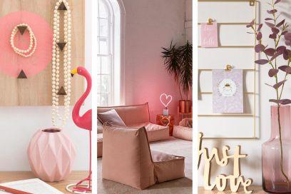 10 idee originali per arredare la casa con il rosa