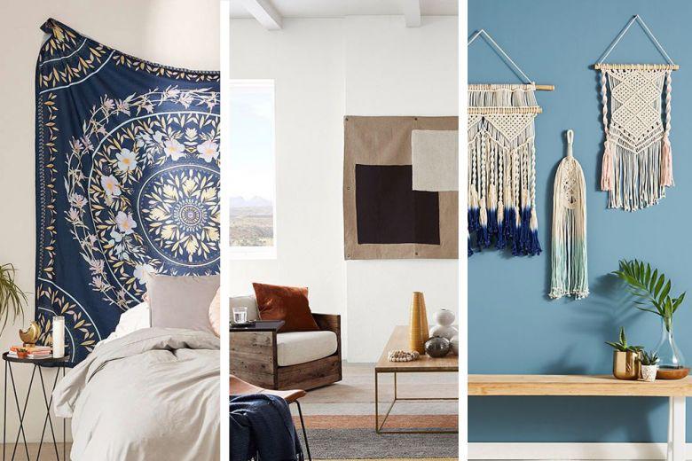 7 idee originali per decorare le pareti di casa con i tessili