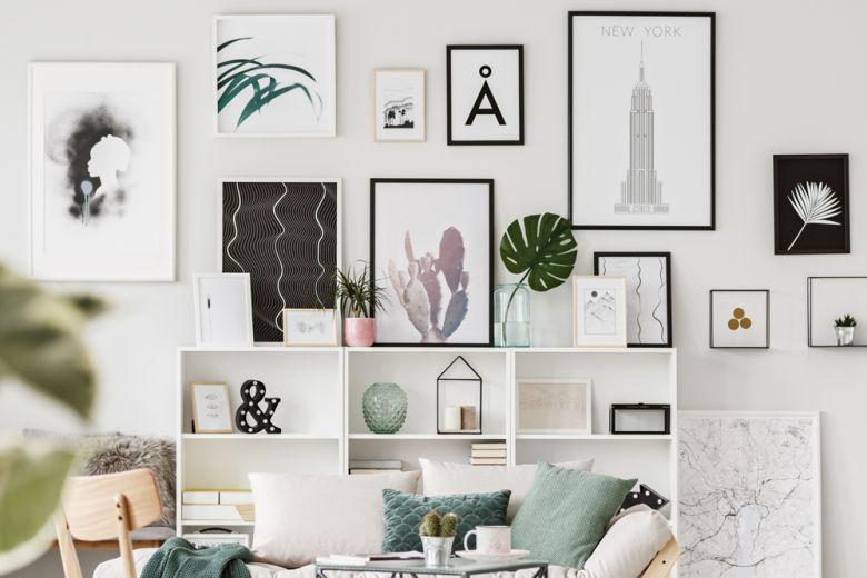7 idee originali per esporre le foto in casa