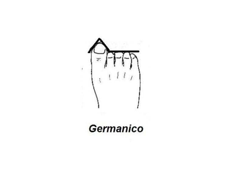 forma-del-piede-germanico