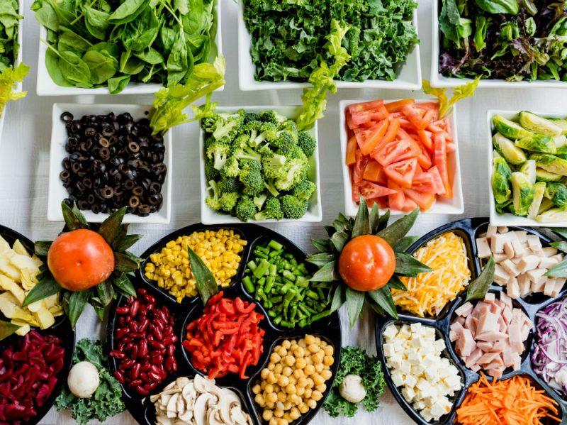 frutta verdura buffet