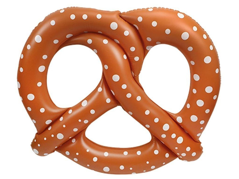gonfiabile pretzel