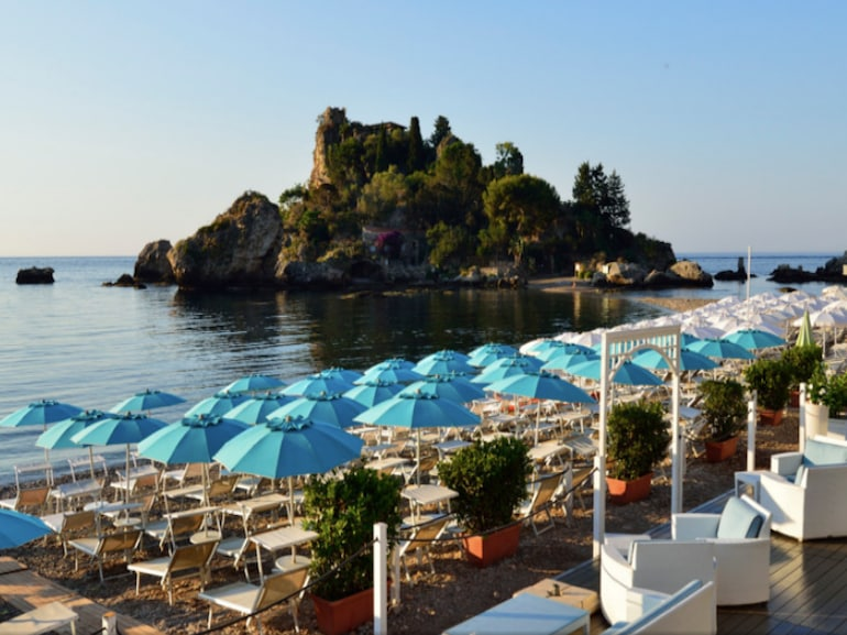 la plage taormina beach club
