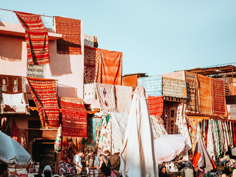 marrakech souq