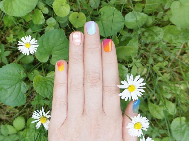 nail-art-arcobaleno