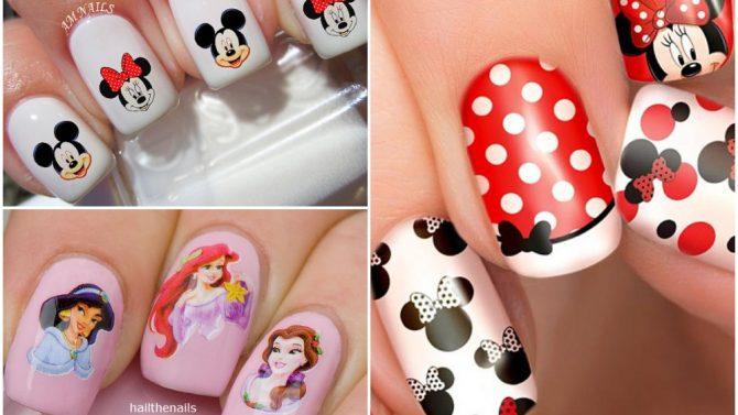 Nail Art Disney Le Unghie Cartoon Più Belle Per Una Manicure Divertente