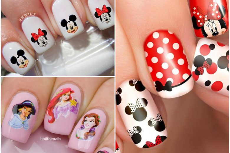 Nail art Disney: le unghie cartoon più belle per una manicure divertente