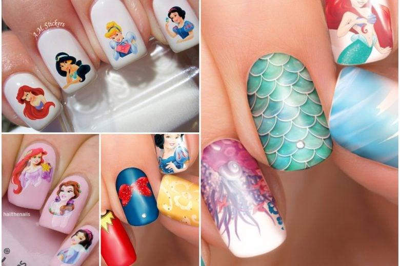 Nail art principesse Disney: le manicure dedicate alle sognatrici