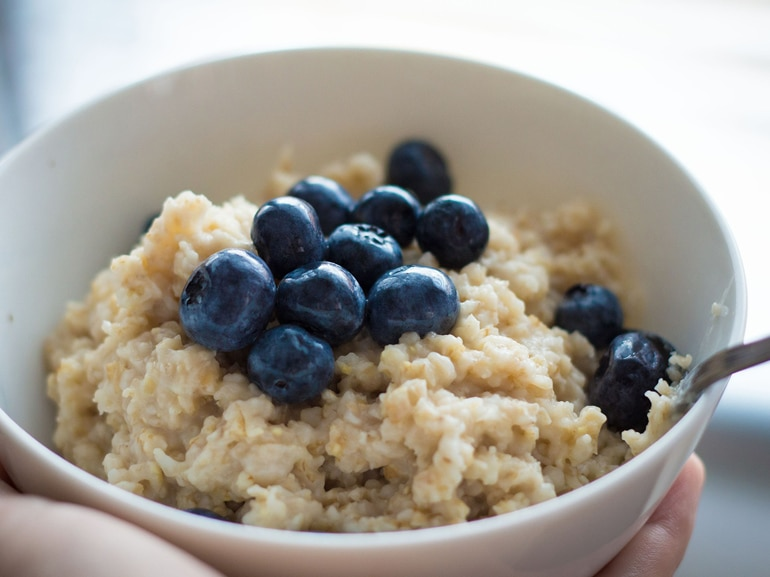 oatmeal mirtilli