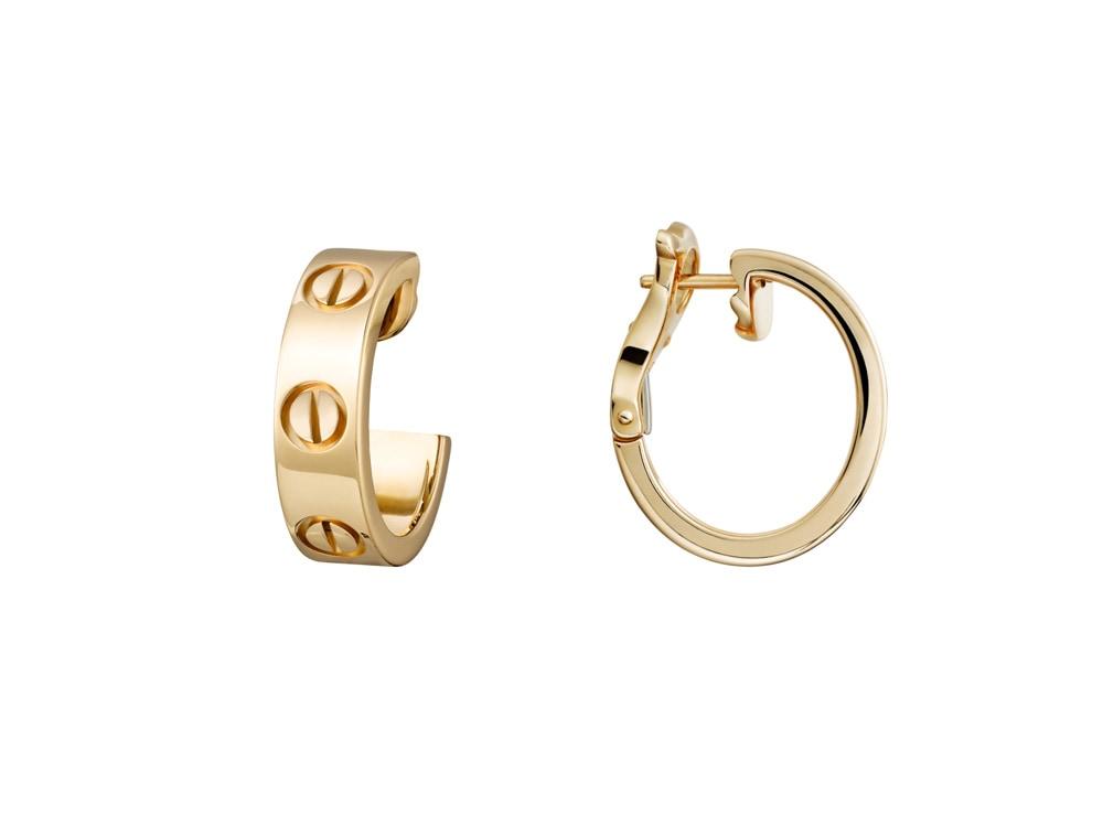 orecchini-in-oro-giallo-collezione-LOVE-CARTIER