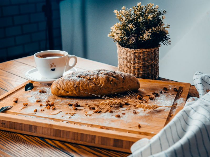 pane integrale colazione