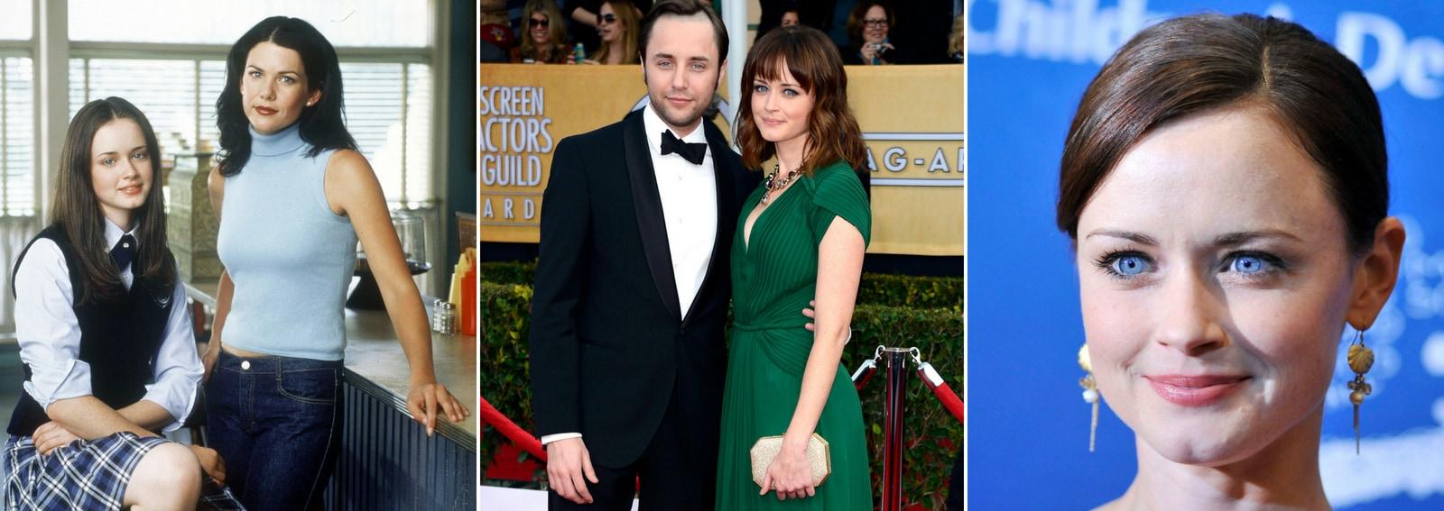 Alexis Bledel amore marito famiglia curiosita vita Rory protagonista Gilmore Girls Una mamma per amica DESK