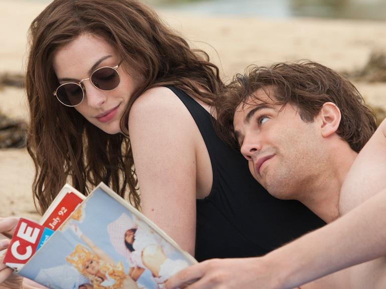 Anne Hathaway spiaggia