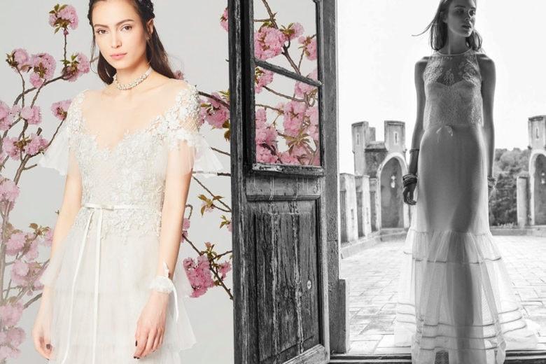 Gli abiti da sposa più leggeri per l'estate